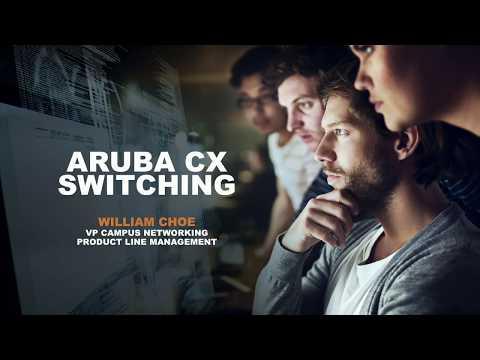 Aruba tăng cường sức mạnh với dòng sản phẩm CX Switches mới